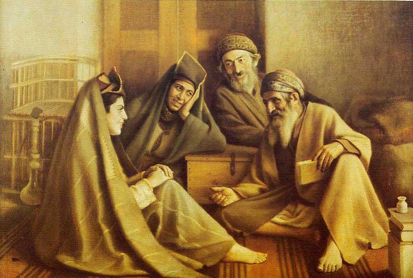 نقاشی اثر کمال الملک