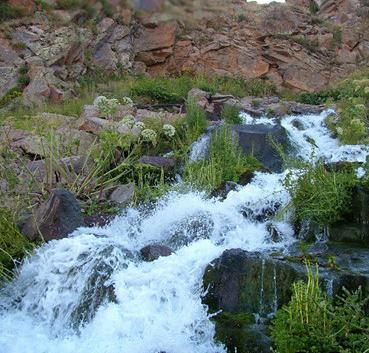 آبشار گورگور سبلان