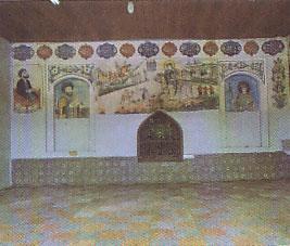 بقعه آقا سید حسین و بناهای همجوار مسجد مقبره منجم باشی