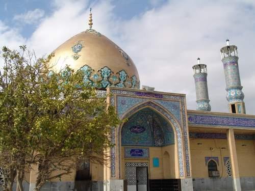 بقعه مهدی صالح واقع در شهر دره شهر