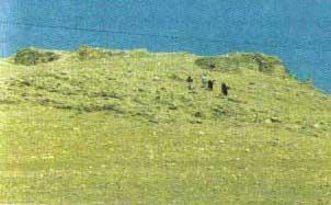 پشت قلعه آبدانان